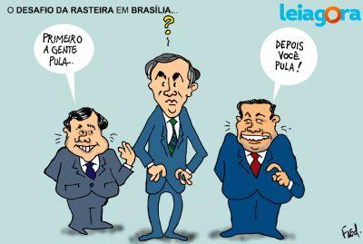 Desafio da Rasteira em Brasília