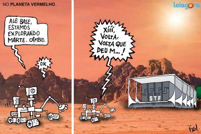 No Planeta Vermelho