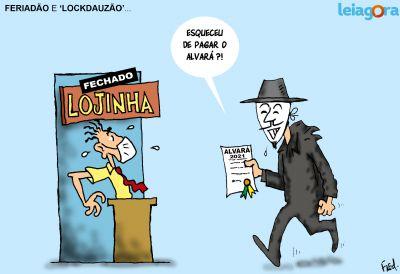 Feriadão de 'Lockdauzão'