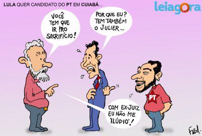 Lula quer candidato do PT em Cuiabá