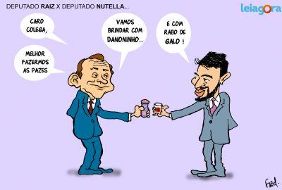 Deputado Raiz X Deputado Nutella
