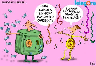 Foliões do Brasil...