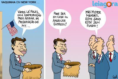 Vaquinha em New York