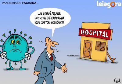 Pandemia de Fachada