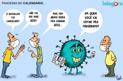 Pandemia no Calendário