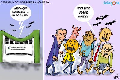 Campanha dos Horrores na Câmara