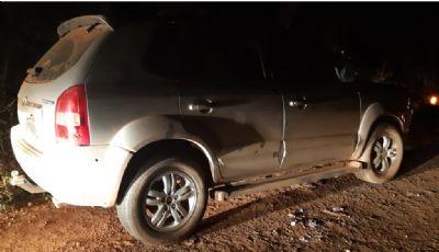Assaltantes trocam tiros com a Polícia durante perseguição por carro roubado