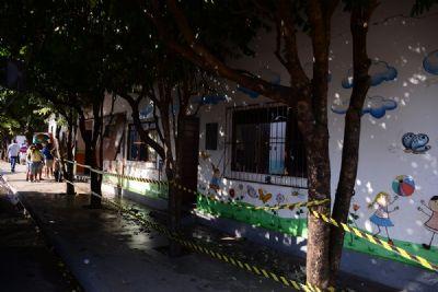 Comunidade escolar age rápido e evita tragédia na CMEI Jonas Cavalcante