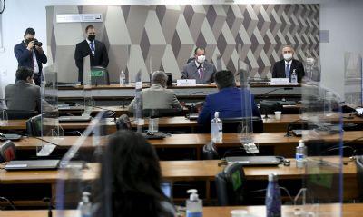 CPI suspende trabalhos e quer condução coercitiva de empresário