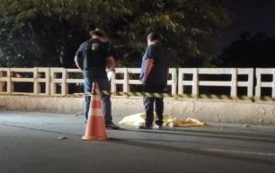 Homem é atropelado e tem cabeça esmagada por caminhão