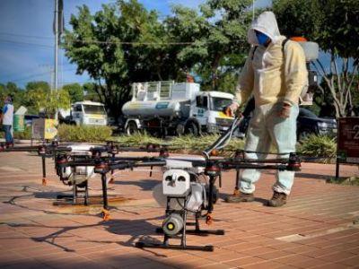 Processo dos drones em Cuiabá está parado