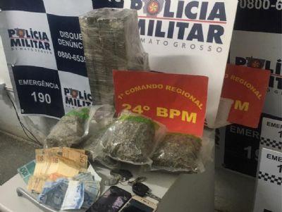 PM prende homem por tráfico de drogas no Cinturão Verde