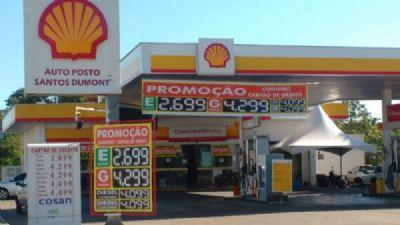 MP investiga adulteração em combustível no Posto Santos Dumont