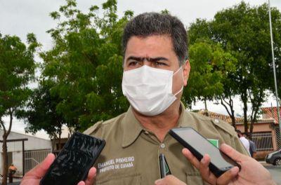 Emanuel afirma que Cuiabá não aplicará vacina comprada pelo Estado sem autorização da Anvisa