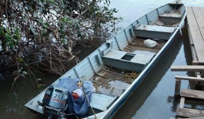 Irmãos são presos por furto de embarcação