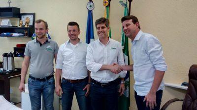 Empresa de tratores alemã anuncia investimento de R$ 30 milhões em Sorriso