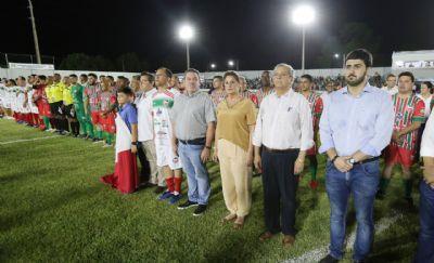 """Novo estádio """"Dito Souza"""" volta a ser palco de grandes jogos em Várzea Grande"""