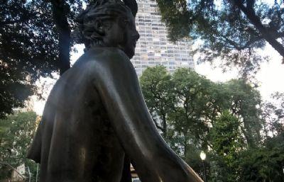 Estátua de 75 anos é furtada em reforma do Vale do Anhangabaú, em SP