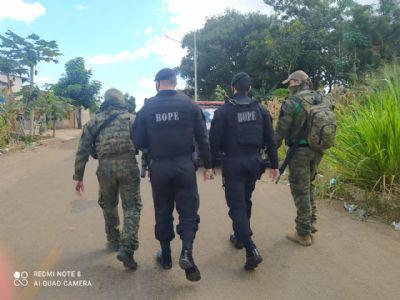Efetivo com 120 policiais está atrás de quadrilha que assaltou bancos em MT