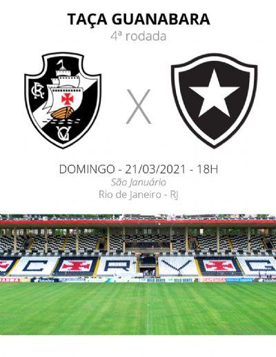 Vasco x Botafogo: veja escalações, desfalques e arbitragem