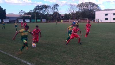 Cuiabá e União empatam no primeiro jogo da decisão do Mato-grossense Sub-19