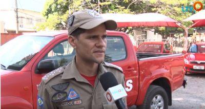 Bombeiros orientam sobre os cuidados com os fogos de artifícios nas festas juninas