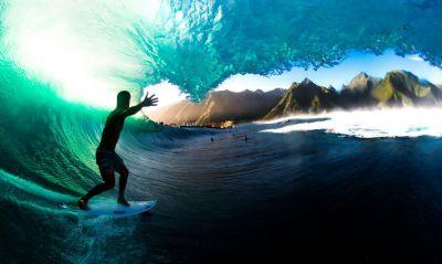 Jogos de Tóquio: surfistas enfrentam pandemia no paraíso