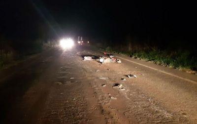 Motociclista morre em acidente na BR-163 em Itaúba