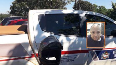 Após tentar furtar carro no Centro Político Administrativo, homem é preso pela PM