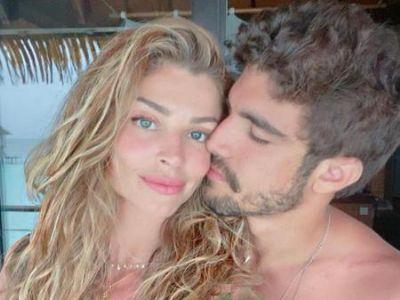 Caio Castro aparece sem aliança e fãs especulam término com Grazi