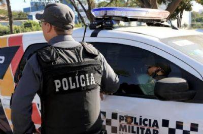 Suspeito de roubo tenta fugir de abordagem e provoca acidente