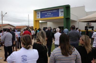 Prefeitura inaugura o ESF no bairro Padre Onesto Costa