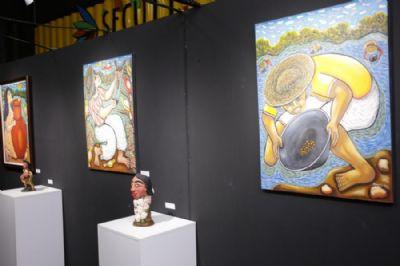 Salão das Águas estreia nova exposição de artes plásticas