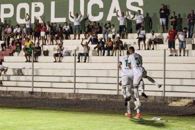 Luverdense supera rebaixamento, bate Goiás e leva vantagem para próximo confronto