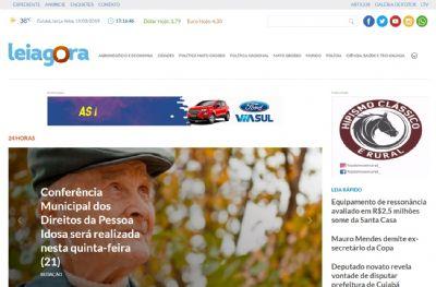 Portal de notícias Leiagora comemora um ano com novo site e aposta em conteúdo audiovisual