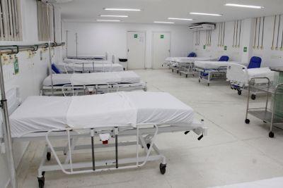 44% dos pacientes do interior e a guerra continua