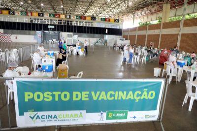 Justiça mantém vacinação aberta em Cuiabá