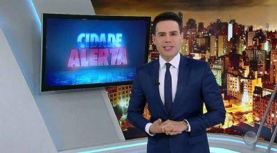 Luiz Bacci é afastado temporariamente do 'Cidade Alerta'