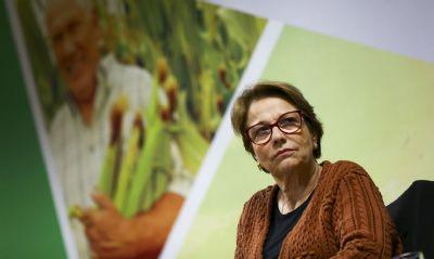 Tereza Cristina evita comentar fim de status de país em desenvolvimento do Brasil