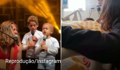 Morre menina com câncer que emocionou o Brasil ao cantar com Vitor Kley
