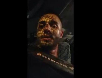 Veja vídeo gravado por ex-mister dentro de viatura após prisão