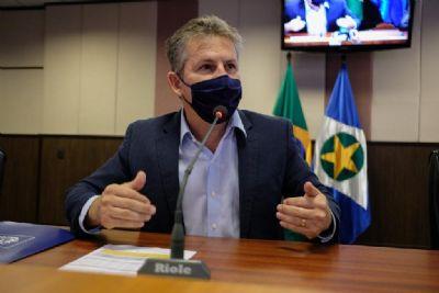 Mauro lembra secretários afastados e fala para Emanuel representar MP e Judiciário