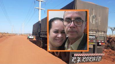 Motorista e esposa desaparecem após roubo de carreta