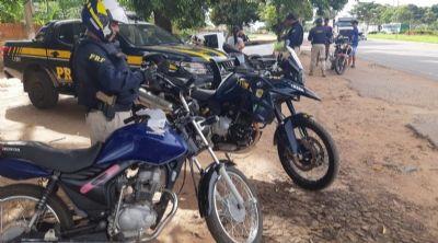 Quase 100 motocicletas são apreendidas em operação
