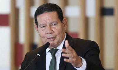 'Foi lá dentro do Congresso', diz Mourão sobre orçamento secreto