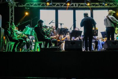 """Por do Sol com MPB"" traz Orquestra Primavera do Leste no próximo domingo (26)"