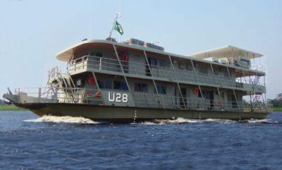Cuiabá recebe navio hospitalar da Marinha nesta sexta