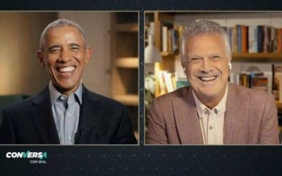 Em entrevista a Bial, Obama compara Bolsonaro e Trump