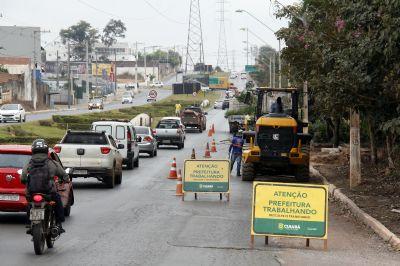 Trechos das Avenidas das Torres e Beira Rio serão bloqueadas por obras de viaduto