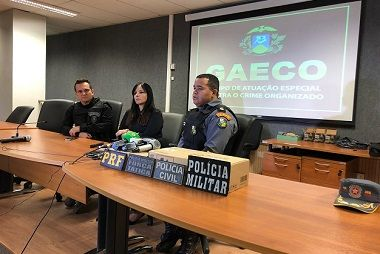 Quadrilha utilizava roupa camuflada para roubar defensivos agrícolas; 9 pessoas são presas